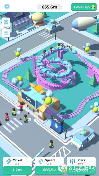 Idle Roller Coaster图3
