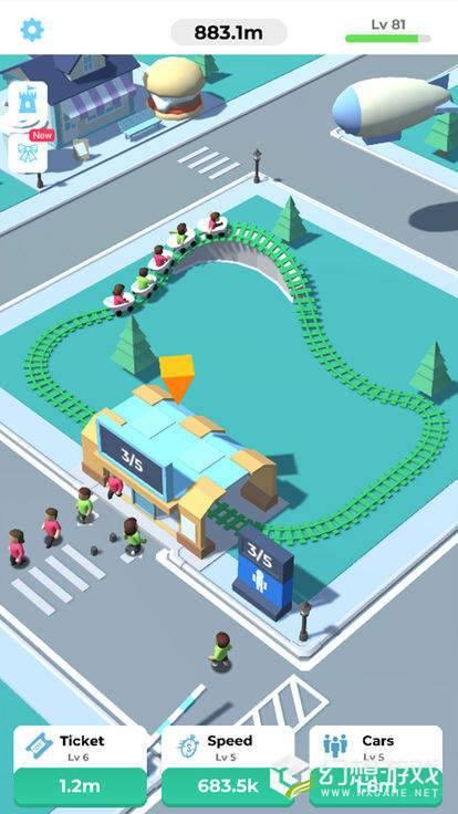 Idle Roller Coaster图1