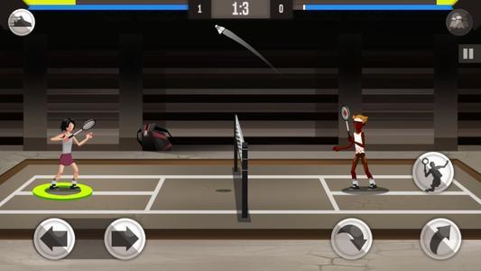 羽毛球竞技游戏