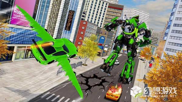 飞车机器人变形图1