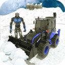 雪地挖掘机