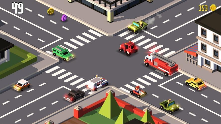 城市交通管理游戏