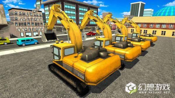 建造施工挖掘模拟图2
