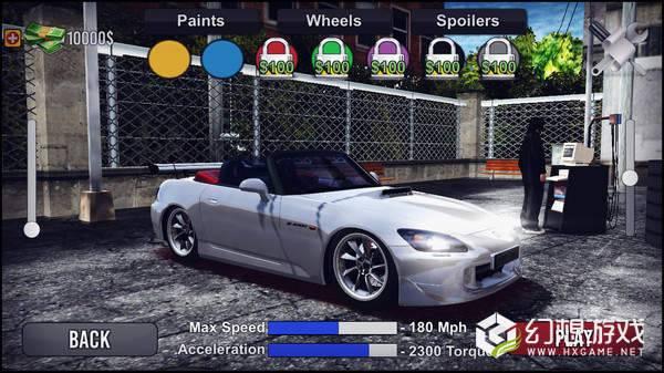 本田S2000汽车模拟图4