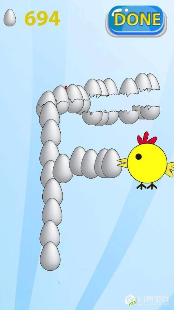 快乐小鸡生鸡蛋图1