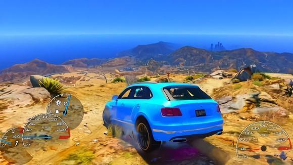 豪车模拟驾驶游戏