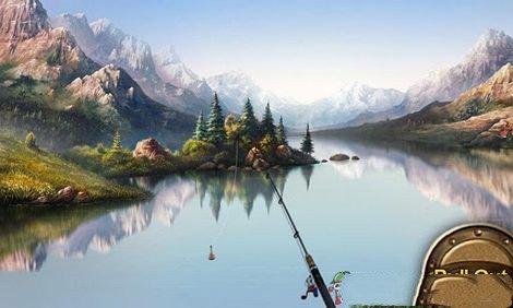 模拟钓鱼游戏
