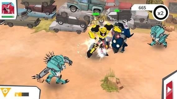 机器人变形游戏