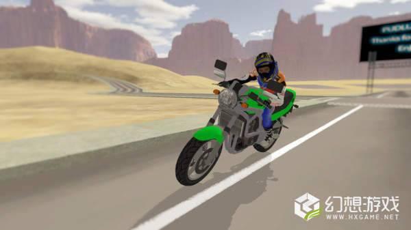 极速摩托车驾驶员图2