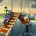 摩托车空中特技赛