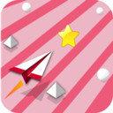纸飞机跳跃