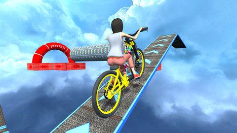 空中自行车驾驶游戏