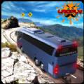 旅游巴士看风景