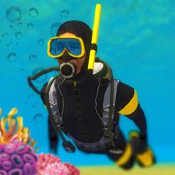 水肺潜水游泳模拟器