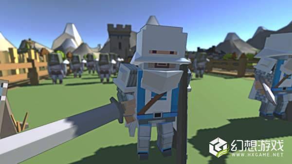 Boxy打击战斗模拟器图1