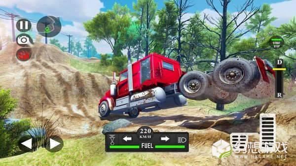 越野泥浆车驾驶模拟图2