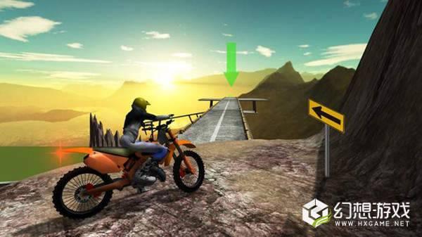 摩托骑士山特技图3