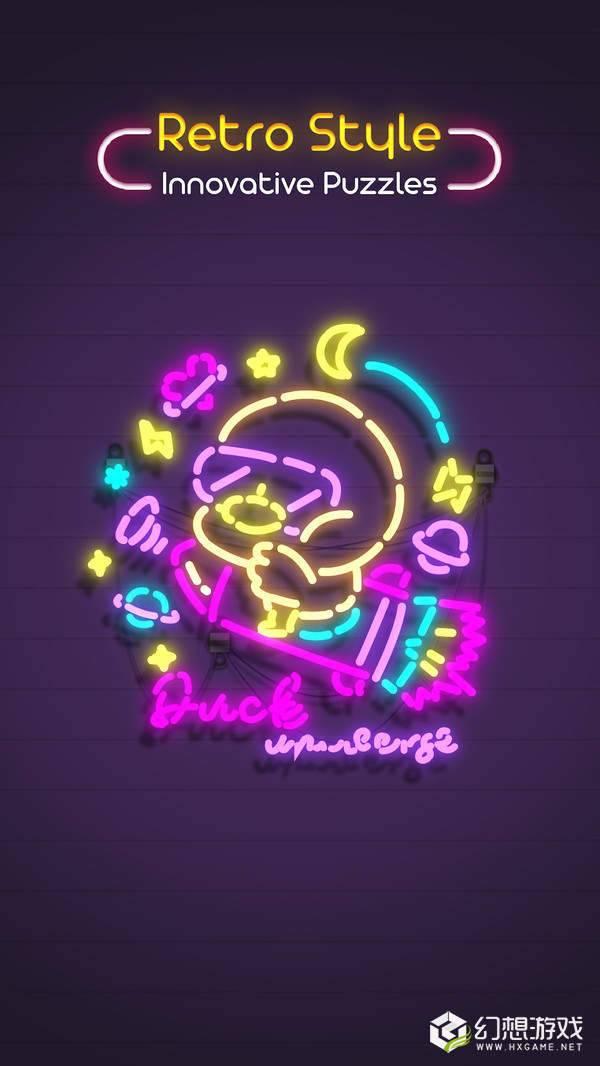 霓虹灯幻视空间图3