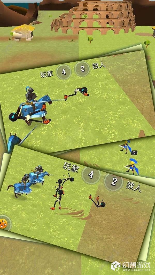 火柴人骑士战争3D图1
