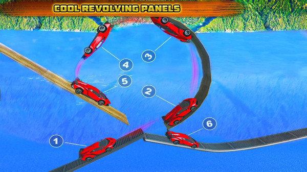 赛车驾驶特技游戏