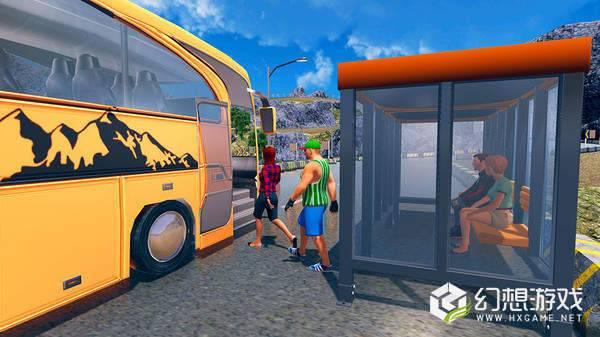 越野旅游巴士驾驶模拟器图3