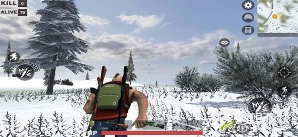 精英战场雪地吃鸡图1