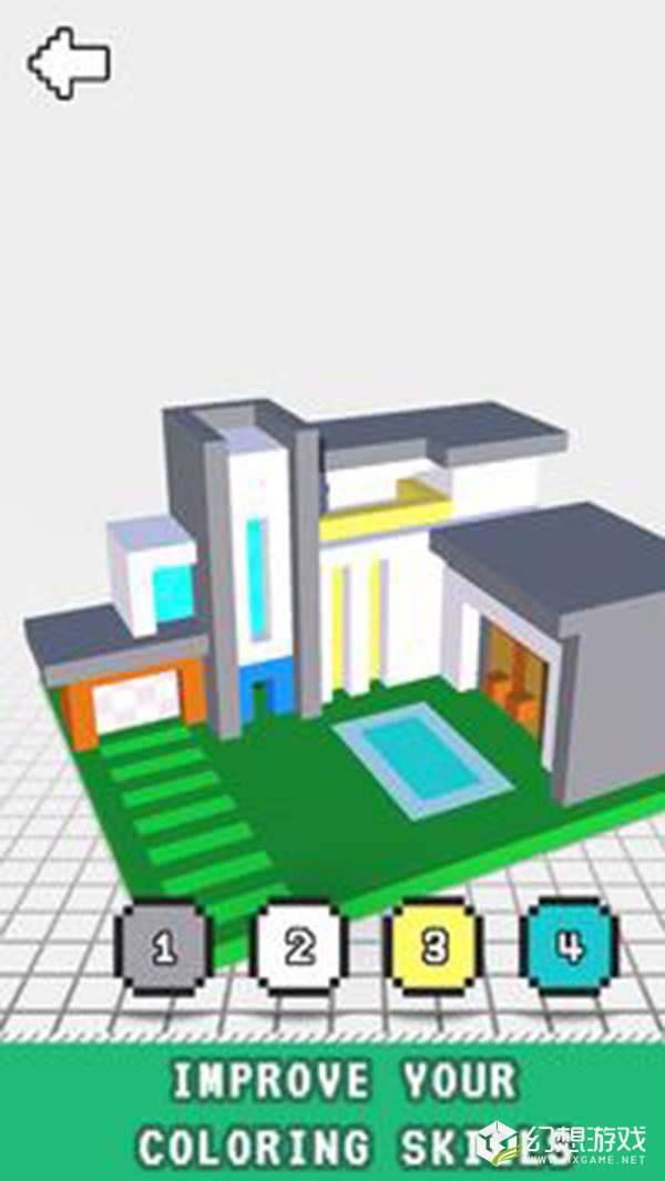现代房屋三维图画书图4