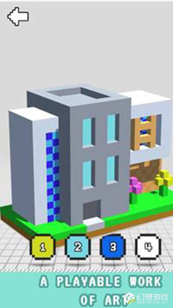 现代房屋三维图画书图1