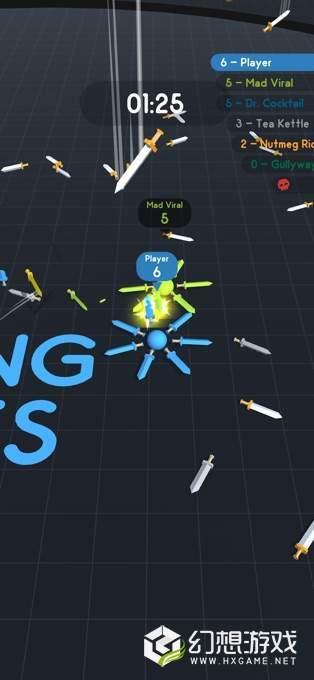 Spinning Swords图1