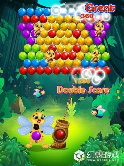 蜜蜂气泡图1