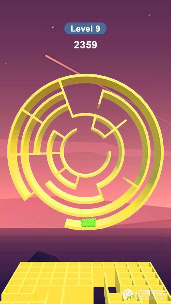旋球迷宫图3