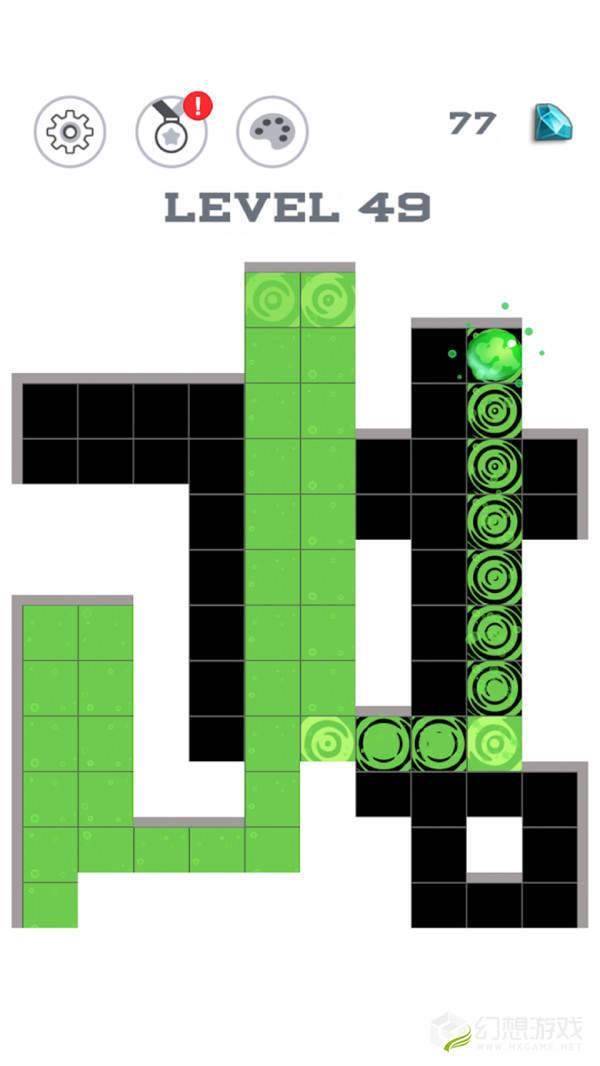 迷宫着色图3