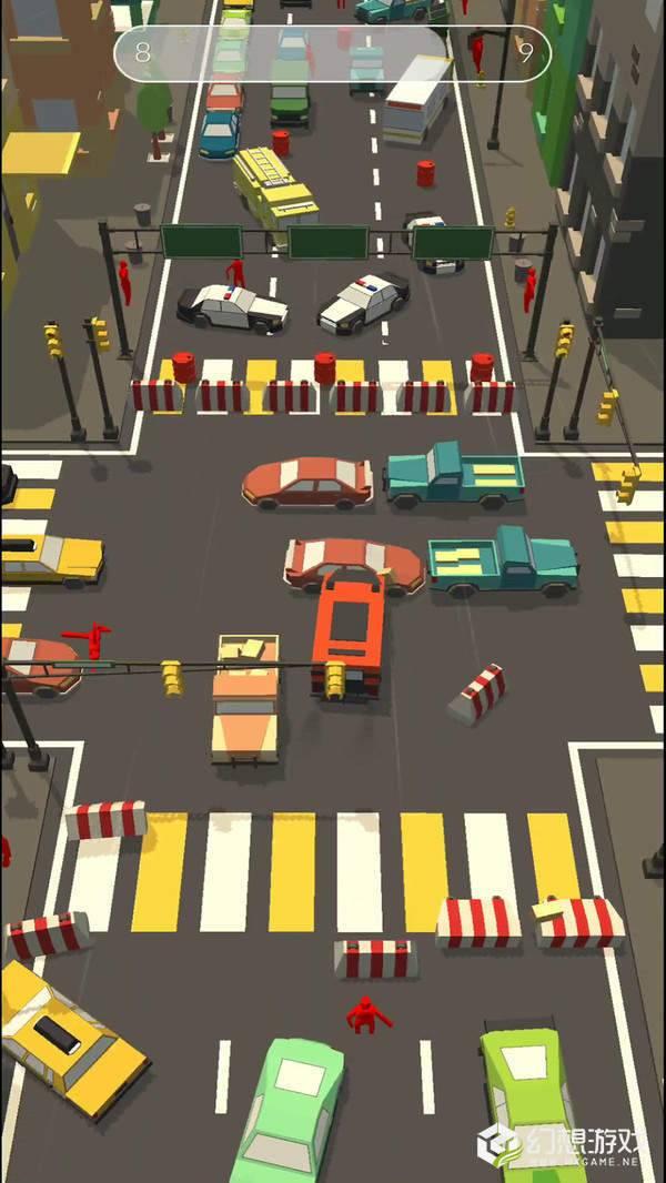 障碍道路碰撞3D图3