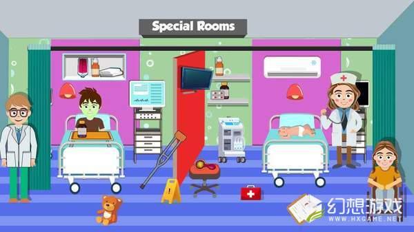 我市医院生活图1
