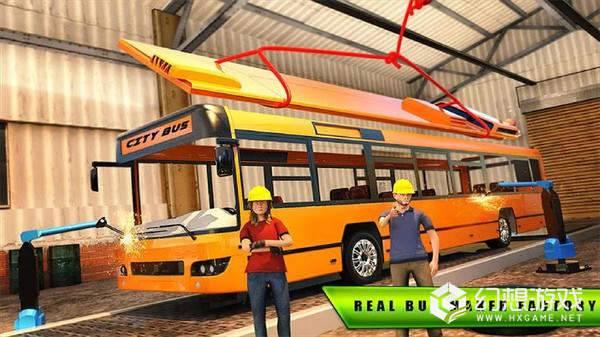城市公交车建造图2