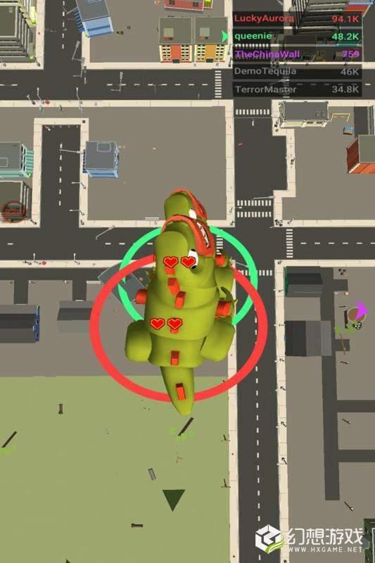 怪兽城市破坏王图1