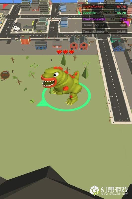怪兽城市破坏王图2