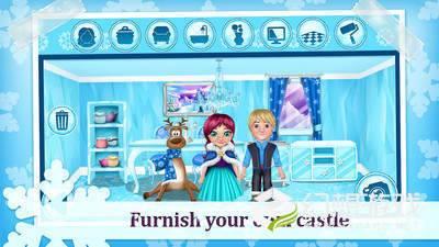 冰雪公主冬季城堡图2