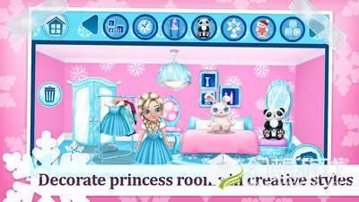 冰雪公主冬季城堡图4