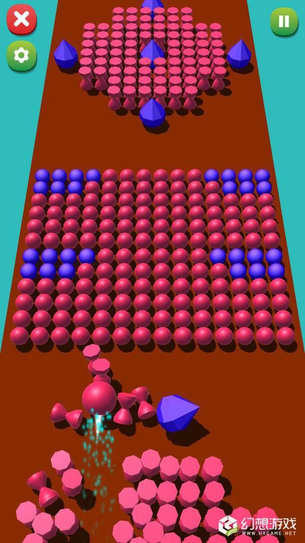 滚滚彩色球3D图2