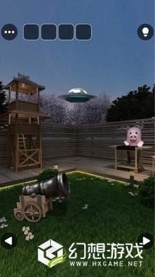 夏夜的公园和UFO图4