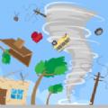 旋转的龙卷风