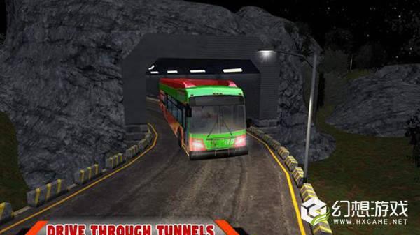 山路雪上巴士图1