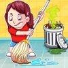女孩城和家庭清洁