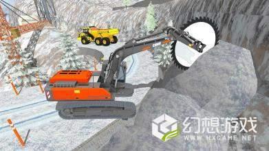 拆除挖掘机3D图3