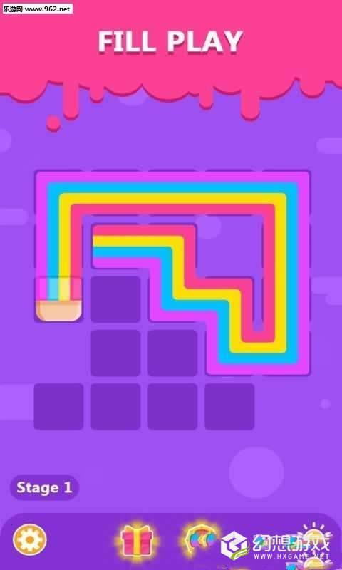 彩色线条的谜题图2