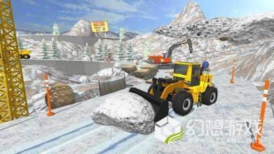 拆除挖掘机3D图1