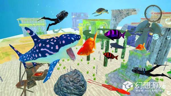 饥饿的鲨鱼袭击图2