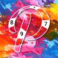 油彩艺术颜色按数字