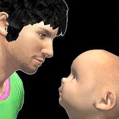 爸爸护理宝宝模拟器  v1.0